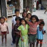 2009年に訪れたバイシャリー(インド)の子ども達