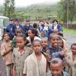 2005年に訪れたティグレ(エチオピア)の子ども達