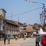 2009年に訪れたネパール・カトマンズの商店街