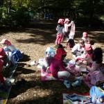 昭和記念公園の木陰