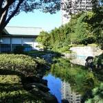 法人本部の庭園